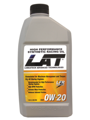 Synthetic Racing Oils / OW20 / LAT Synthetic Racing Oils