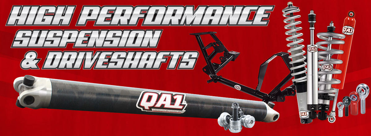 QA1 High Performance Suspension & Driveshafts